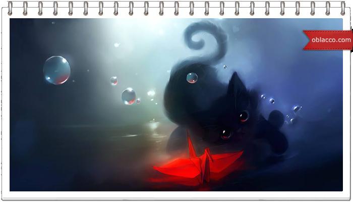 шаблон кот