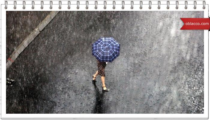погода женщина