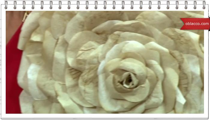 цветы из кофефильтров