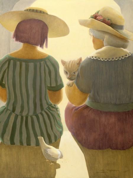 Женщины и кошки от Sandra Bierman