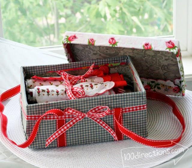 сумочка из коробки
