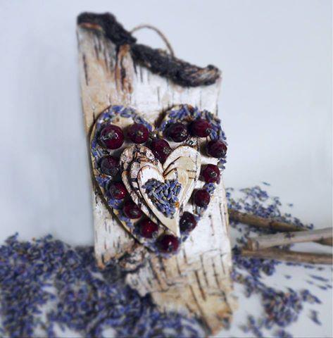 валентинки из бересты