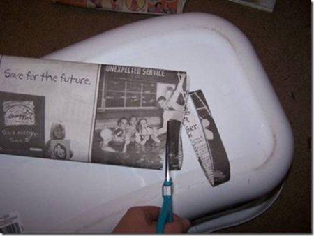 пряжа из газет своими руками
