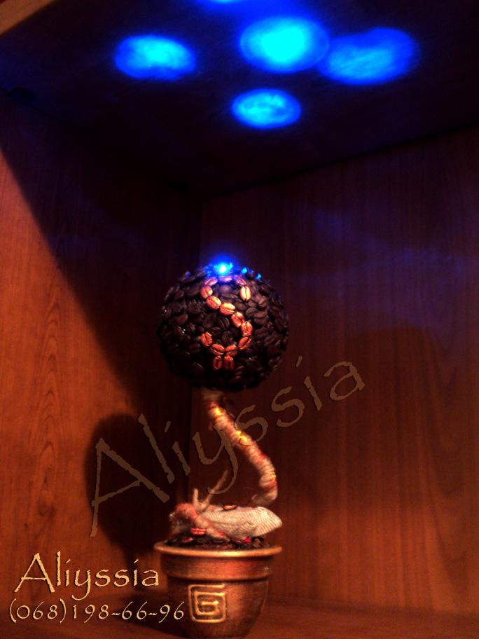 кофейное дерево светильник