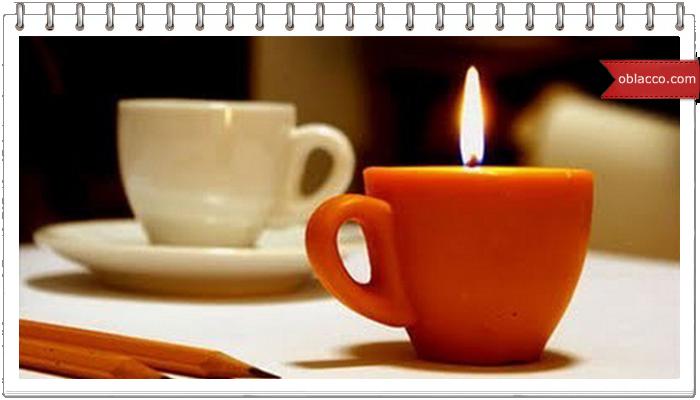 чашка свеча