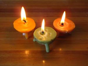 свечи в пески своими руками