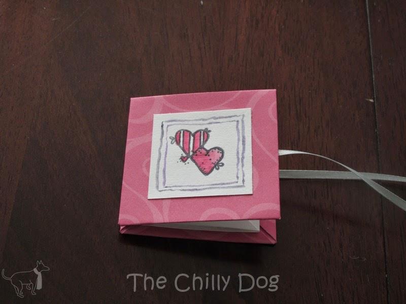 книжка валентинка