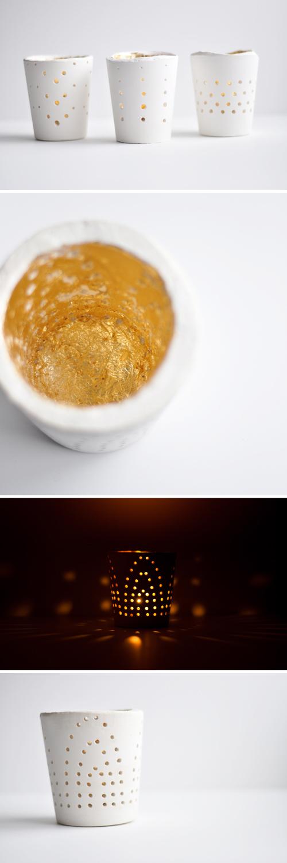 свечи из гипса