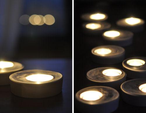 свечи из алебастра