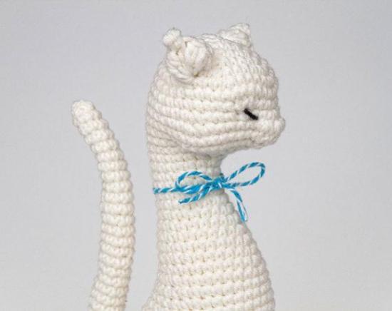 кошки вязание крючком