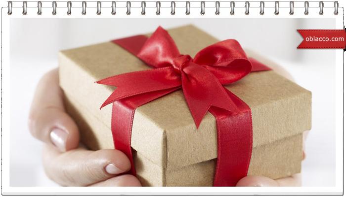 шаблон подарок