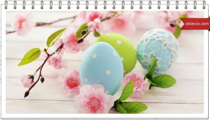пасха яйца декор