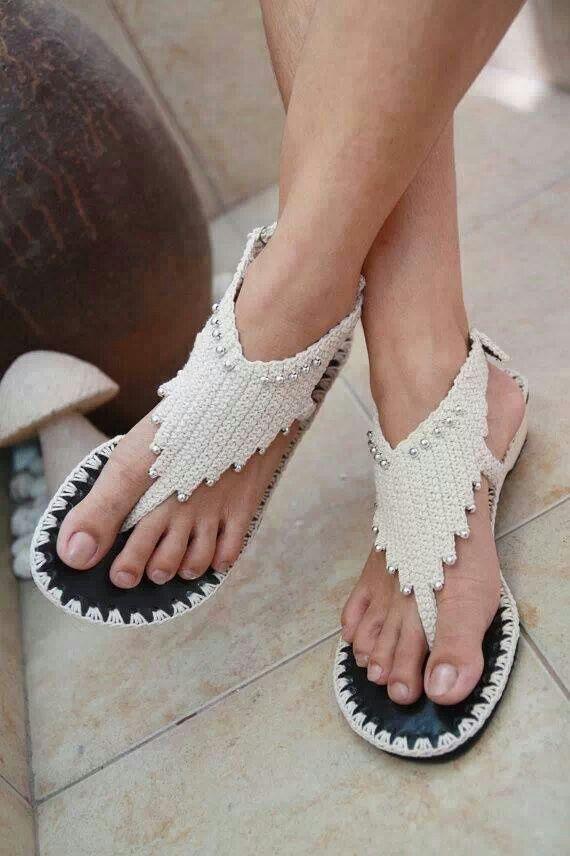 обувь своими руками вязание крючком