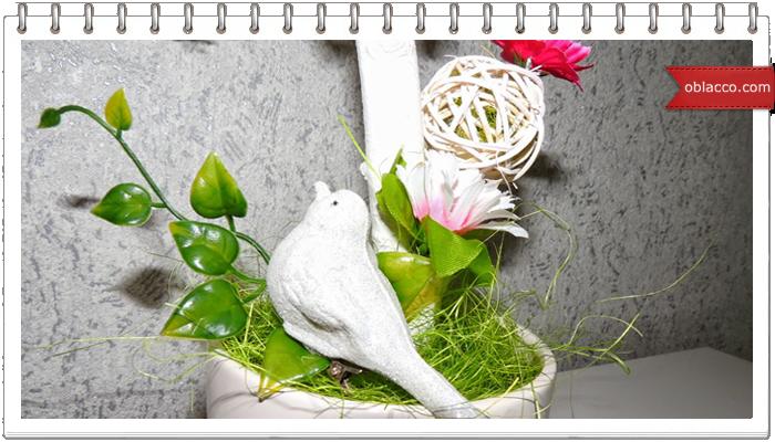 топиарий гнездо