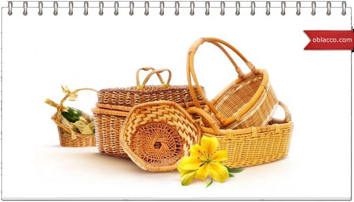 корзина пасхальная цветы
