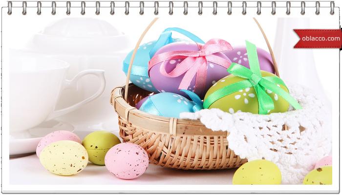Несколько способов окраски яиц без красителей