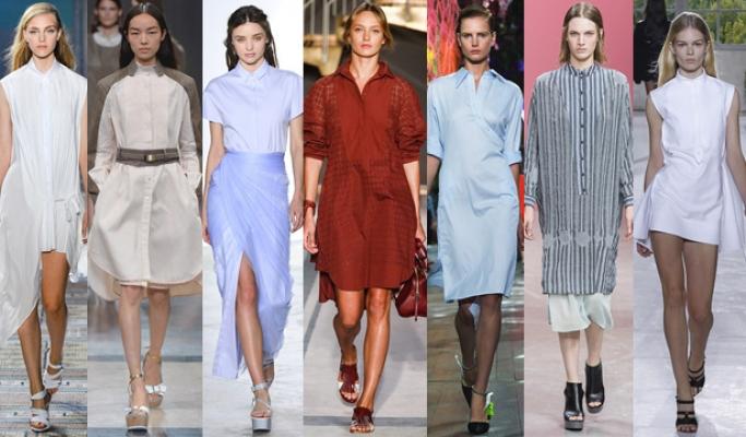 Платье сорочка тренд 2017